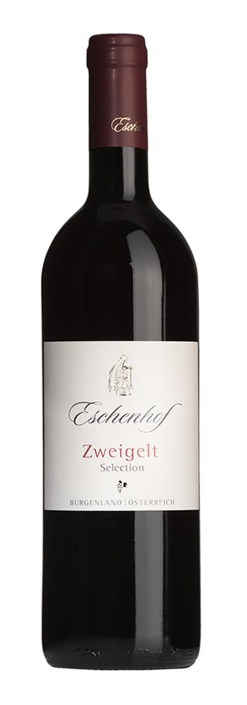 Weinflasche Zweigelt Selection Eschenhof
