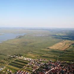 Luftaufnahme Region Mörbisch - Neusiedler See