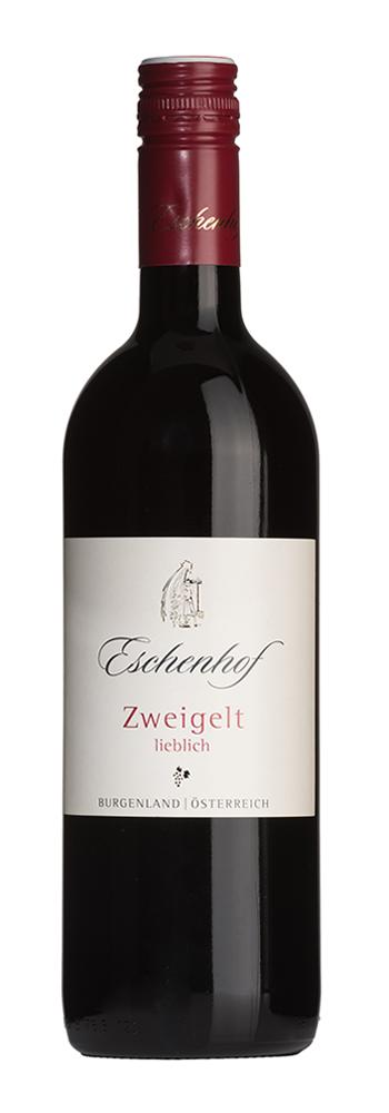 Weinflasche Zweigelt lieblich Eschenhof
