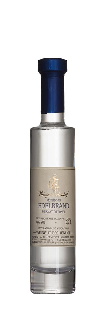 Flasche Mörbischer Edelbrand Eschenhof 0,2l