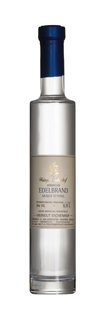 Flasche Mörbischer Edelbrand Eschenhof 0,35l