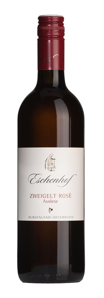 Flaschenfoto Zweigelt Rose Auslese Eschenhof