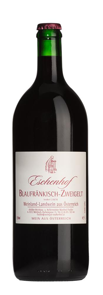 Weinflasche Blaufränkisch-Zweigelt Eschenhof