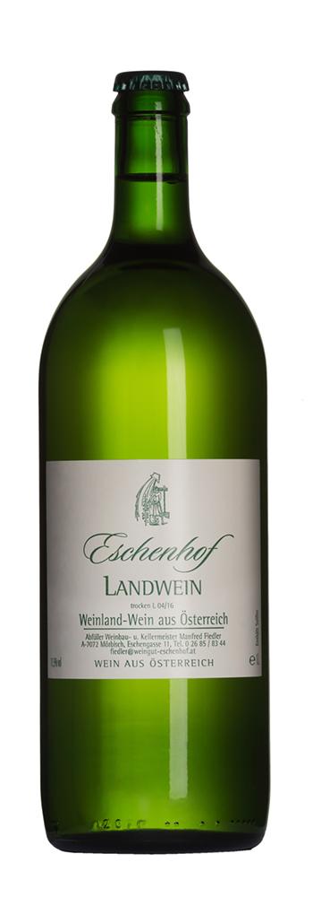 Weinflasche Landwein weiss Eschenhof